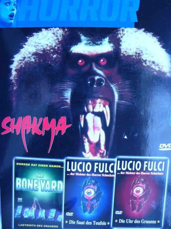Horror - Box  - 4 Filme ...  Horror - DVD !!! ...  FSK 18