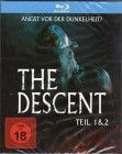The Descent 1+2 - Blu-Ray Schuber-Box - neu in Folie - uncut