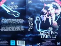 Omen III - Barbara´s Baby ...  Horror - VHS !!!