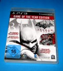 PS3 BATMAN ARKHAM CITY - GOTY EDITION - DEUTSCH
