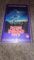 Return of the living Dead 2 UK VHS UNCUT Zombie Horror