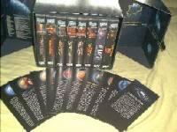 Star Trek 1-7 BOX !!! ACHTUNG RAR !!! 8 Tapes