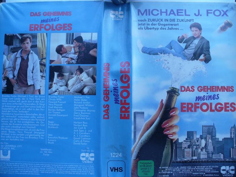 Das Geheimnis meines Erfolges ... Michael J. Fox