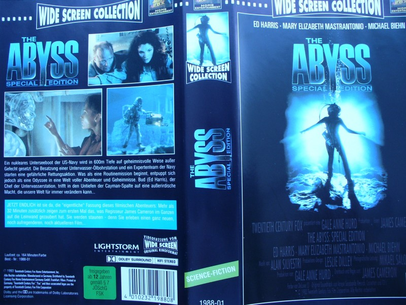 The Abyss - Special Edition ...  Ed Harris, Michael Biehn