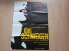 Das Schweigen - Original Kinoplakat A 1