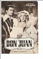 DON JUAN (Filmprogramm 016)