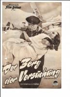 DER BERG DER VERSUCHUNG (Filmprogramm 019)