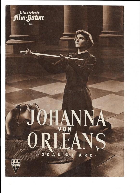 JOHANNA VON ORLEANS (Filmprogramm 038)