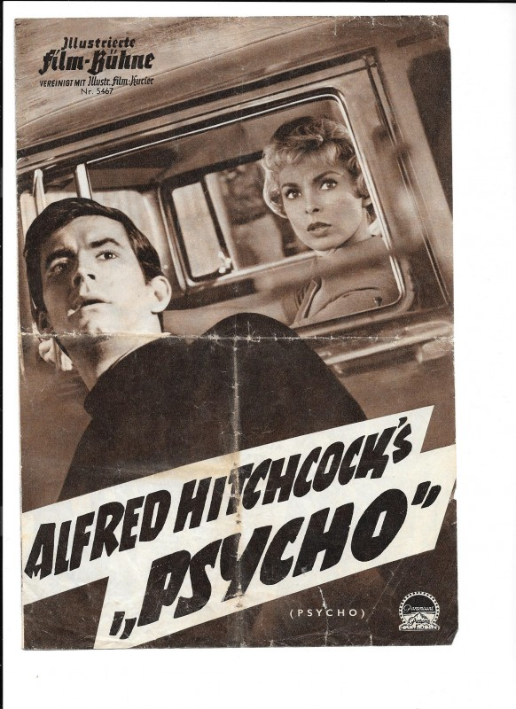 "ALFRED HITCHCOCK´S ""PSYCHO"" (Filmprogramm 040)"