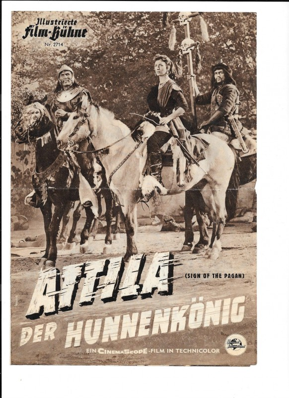 ATTILA DER HUNNENKÖNIG (Filmprogramm 042)