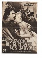 SEMIRAMIS DIE KURTISANE VON BABYLON (Filmprogramm 045)