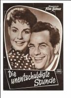 DIE UNENTSCHULDIGTE STUNDE (Filmprogramm 050)