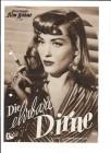 DIE EHRBARE DIRNE (Filmprogramm 062)