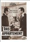 DAS APPARTEMENT (Filmprogramm 087)