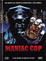 MANIAC COP (Mediabook, Cover A, DVD+Blu-ray) NEU/OVP