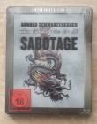 Sabotage Lenticular Edition Blu ray -  Uncut Steelbook *NEU*