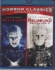 Clive Barker HELLRAISER + HELLBOUND - Blu-ray s CODE 1