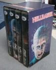 Hellraiser 1 - 4 NL Box VHS Uncut