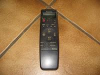 Hochwertige Panasonic VHS-Original Fernbedienung *Mit Klappe