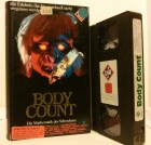 Body Count UFA Video VHS FSK 18 (D17)
