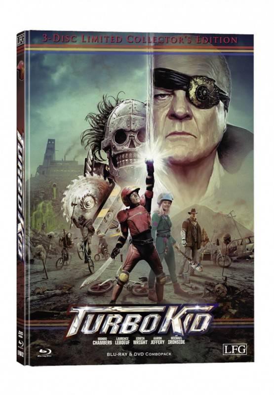 Turbo Kid - DVD/Blu-ray Mediabook A Lim 3000 OVP