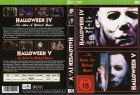 HALLOWEEN IV + V  -   2 Filme - EDITION - DVD