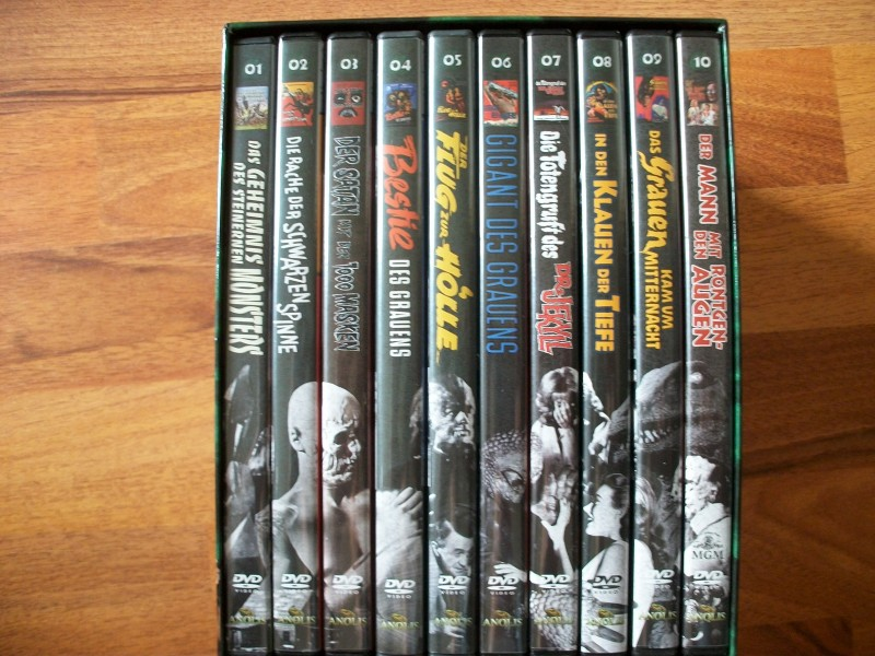Die Ruckkehr Der Galerie Des Grauens Box Komplett 10 Filme Kaufen Filmundo