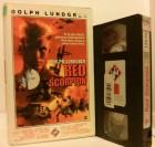 Red Scorpion VHS UFA  Erstausgabe! Dolph Lundgren (D22)