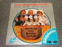 LD LASERDISC Bildplatte // Ein Kochtopf voller Leichen