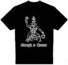 ✖T-Shirt (FIN) Satanic Warmaster (Taake,Goatmoon)