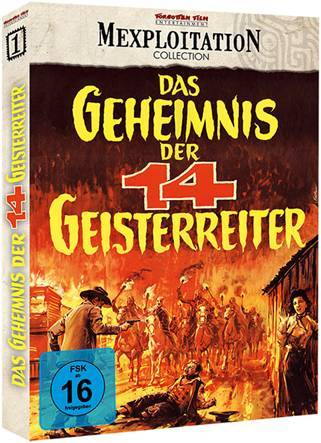 Das Geheimnis der 14 Geisterreiter - Blu-ray Schuber  A OVP