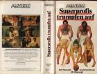 SUPERPROFIS TRUMPFEN AUF -ALLVIDEO gr.Hartbox- VHS NUR COVER