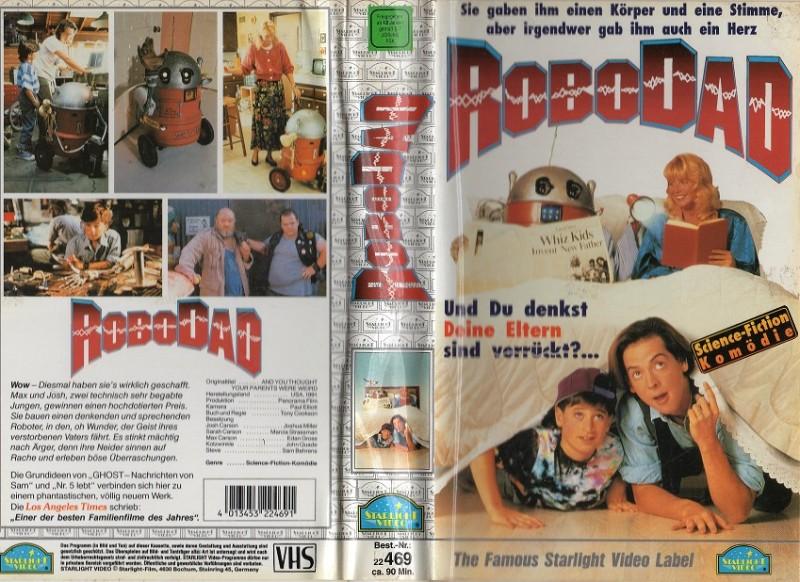ROBODAD - STARLIGHT gr.Hartbox - VHS NUR COVER
