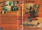 DIE SPUR DES SKORPIONS - VPS gr.Hartbox- VHS NUR COVER