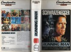 RUNNING MAN - Constantin gr.Hartbox - VHS NUR COVER