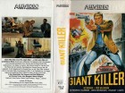 GIANT KILLER - ALLVIDEO gr.HB - VHS NUR COVER