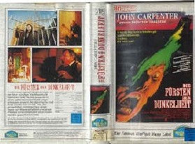 Fürsten Der Dunkelheit !!! CARPENTER !!! (VHS,Großcover,dt.)
