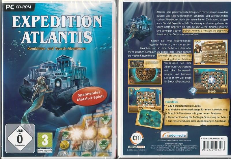 PC Expedition Atlantis  (5005125, NEU, OVP)