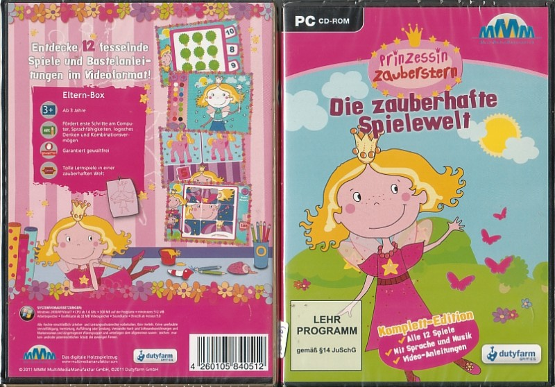 PC Prinzessin Zauberstern - Die Zauberh (5005125, NEU, OVP)