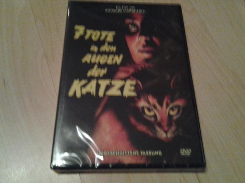 7 tote in den Augen der Katze-uncut dvd neu ovp!