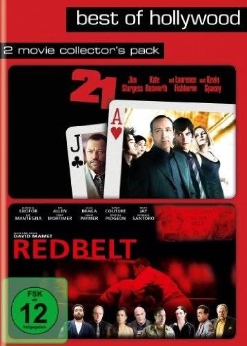 2 Movie Collector's Pack (21 / Redbelt) 2 DVD`s OVP
