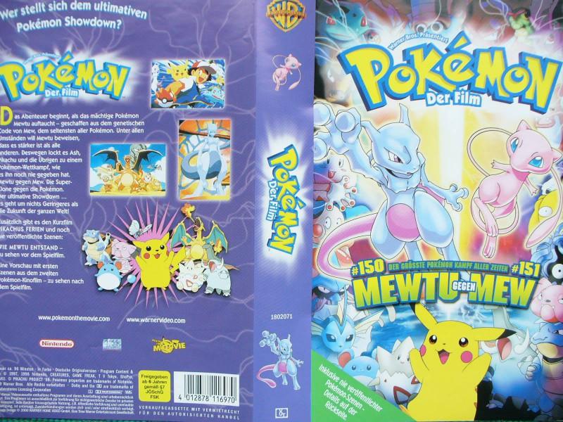 Pokémon der Film - Mewtu gegen Mew