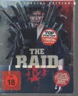 The Raid 1&2 - 4-Disc Special Edition Steelbook Blu Ray NEU