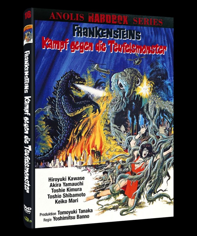 FRANKENSTEIN Kampf gegen die Teufelsmonster - kl Hartbox B