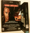 Stirb Langsam 2 VHS Erstausgabe Buchcover! Bruce Willis(D05)