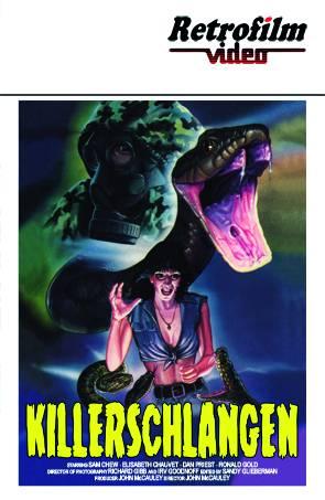 Killerschlangen - gr. Hartbox - Retro - Cover B