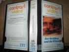 VHS - Der Sträfling und die Witwe - Alain Delon - ITT Glas