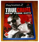 PS2 PLAYSTATION 2 - TRUE CRIME - NEW YORK CITY - KOMPLETT -