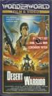 DESERT WARRIOR - Endzeitfilm mit Lou Ferrigno - VHS