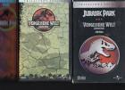JURASSIC PARK+VERGESSENE WELT - DOPPEL PAC- PAPPBOX - VHS